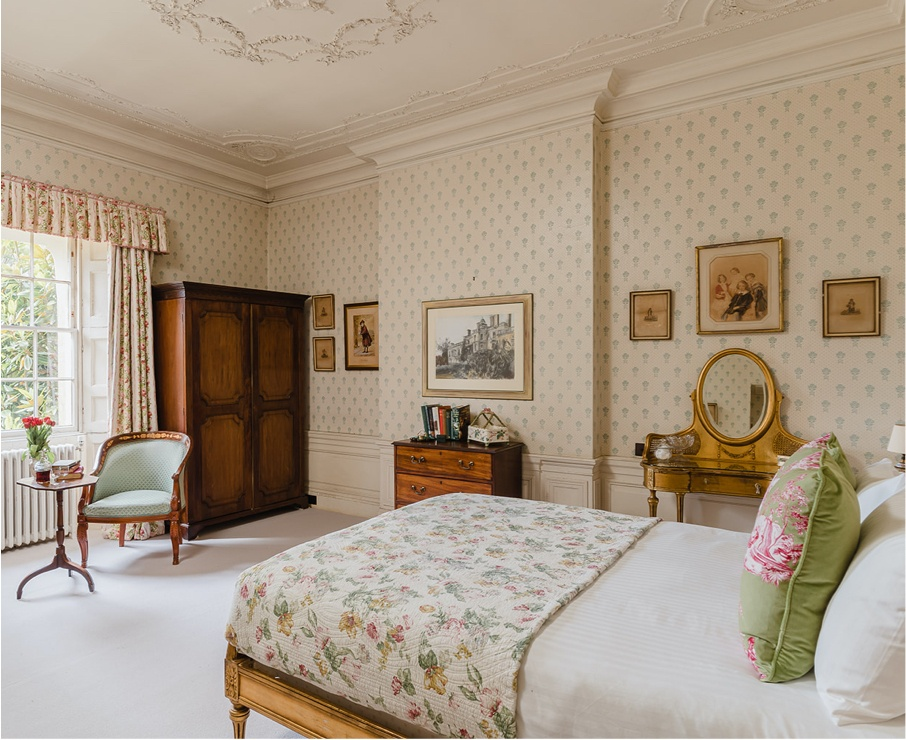 Lucy room offers luxury accommodation.