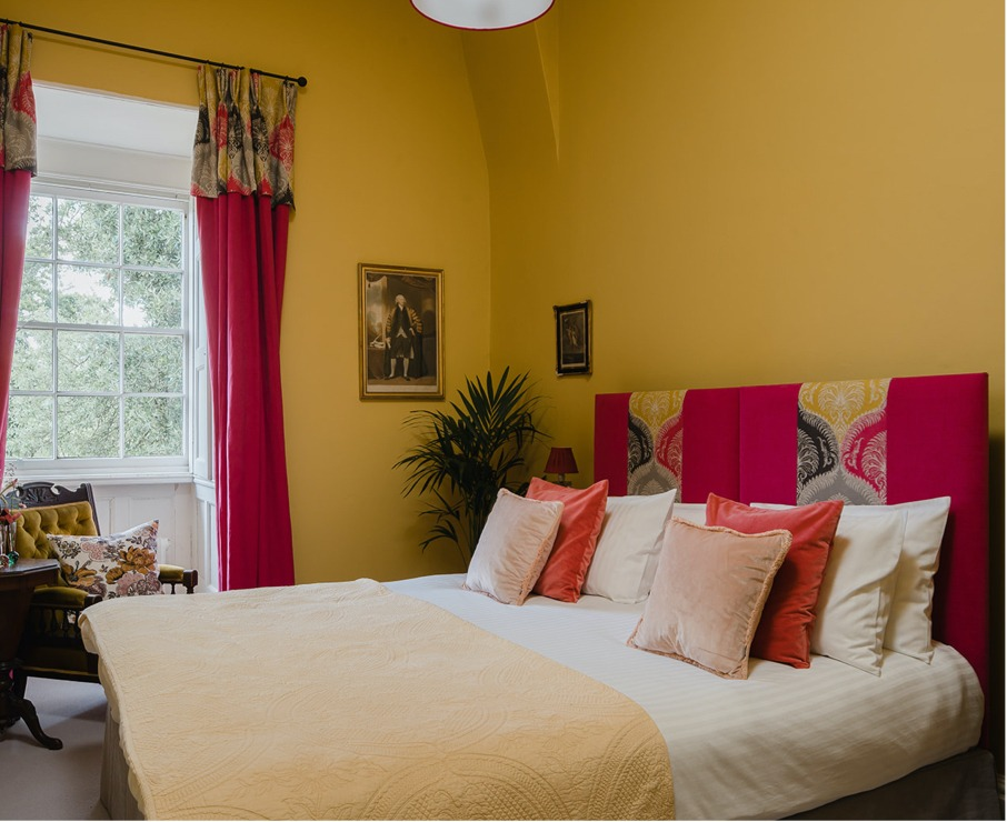 The Alice room offers luxury accommodation in Hampshire.