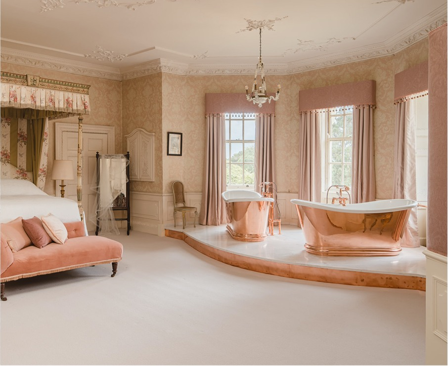 Luxury accommodation in Hampshire.