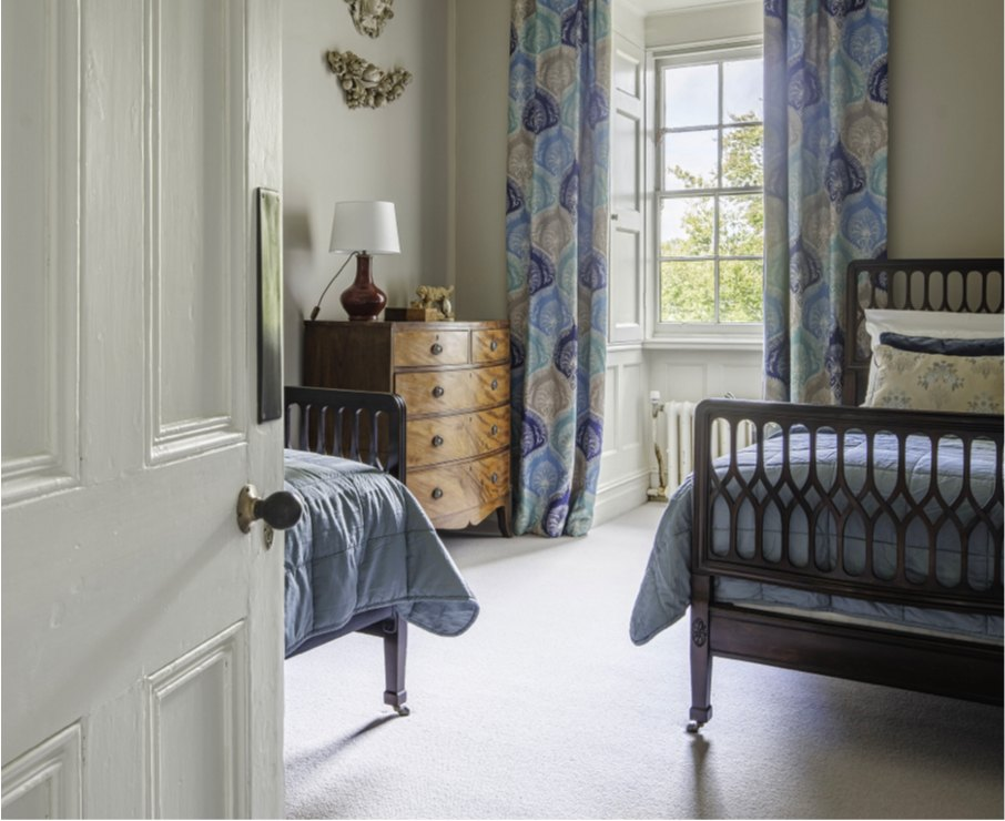 The Ben room offers luxury accommodation in Hampshire.